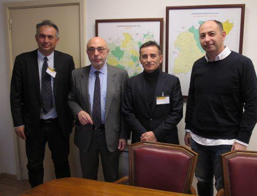 AVEMCOP se reúne con el presidente de la Confederación Hidrográfica del Júcar